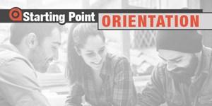 Starting Point Orientation