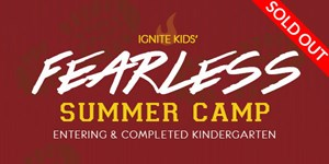 Fearless Camp Entering and Completed Kindergarten