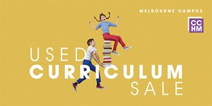 CCM Homeschool Ministry Used Curriculum Sale