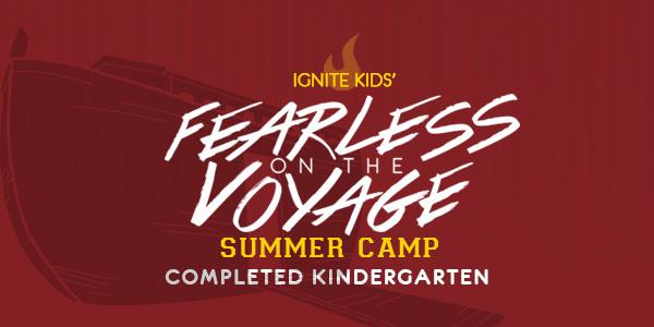 Fearless Camp 2019 Completed Kindergarten